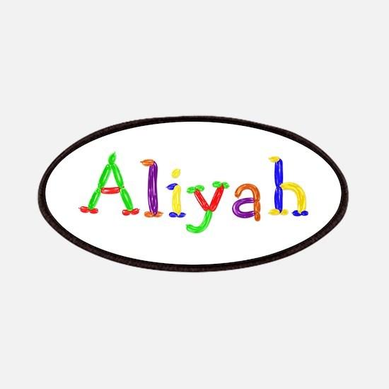 Aliyah Balloons Patch
