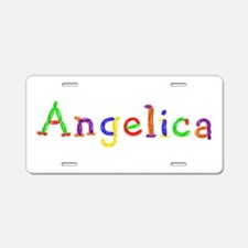 Angelica Balloons Aluminum License Plate