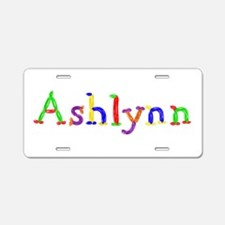 Ashlynn Balloons Aluminum License Plate