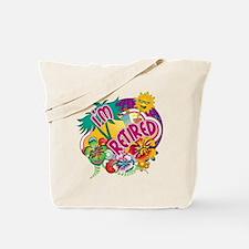 Tropical Retirement Tote Bag