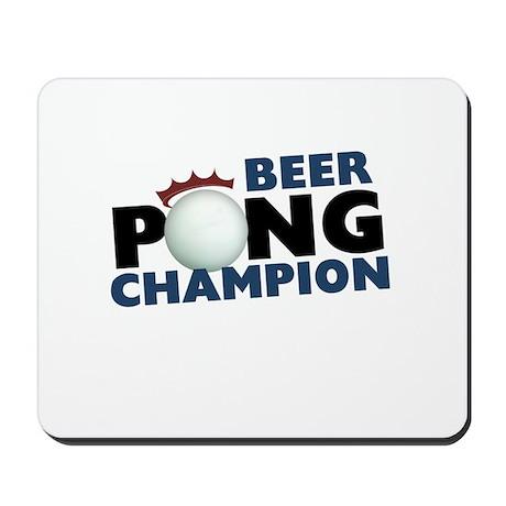 Beer Pong Champion Mousepad