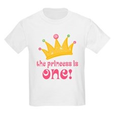 The Princess Is One T-Shirt