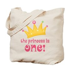 The Princess Is One Tote Bag