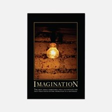 Imagination Rectangle Magnet