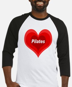 Love Pilates Baseball Jersey