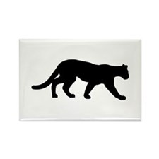 Panther - Cougar Rectangle Magnet