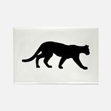 Panther - Cougar Rectangle Magnet