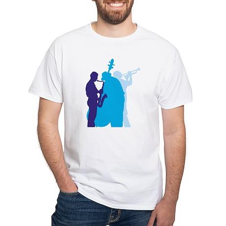Jazz Trio White T-Shirt