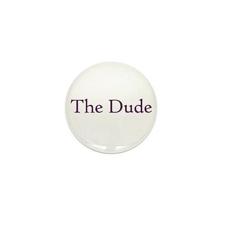 The Dude Mini Button