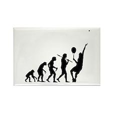 Tennis Evolution - Fridge Magnet