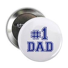 """No.1 Dad 2.25"""" Button"""