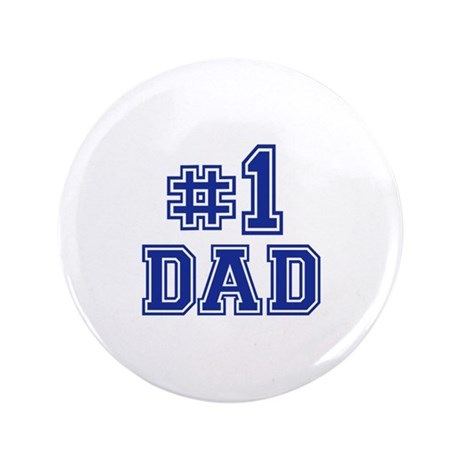 """No.1 Dad 3.5"""" Button (100 pack)"""
