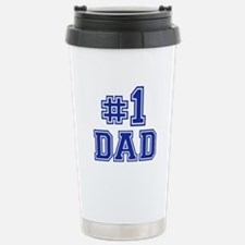 No.1 Dad Stainless Steel Travel Mug