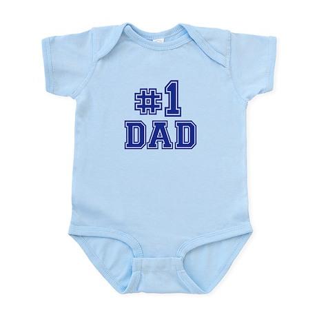 No.1 Dad Infant Bodysuit