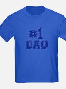 No.1 Dad T