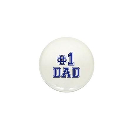 No.1 Dad Mini Button