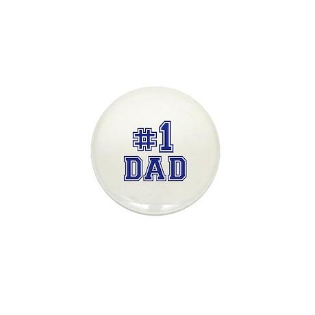 No.1 Dad Mini Button (100 pack)