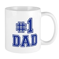No.1 Dad Small Mug