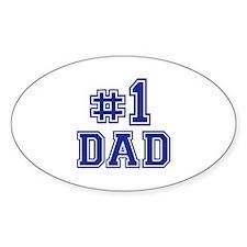No.1 Dad Decal