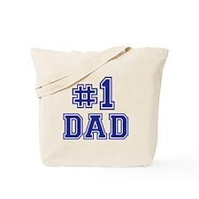 No.1 Dad Tote Bag