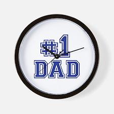 No.1 Dad Wall Clock
