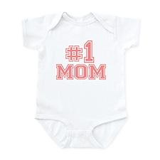 No.1 Mom Infant Bodysuit