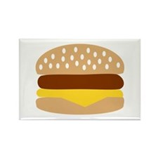 Hamburger Rectangle Magnet
