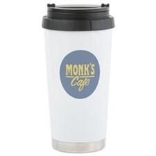 Monk's Cafe Travel Coffee Mug