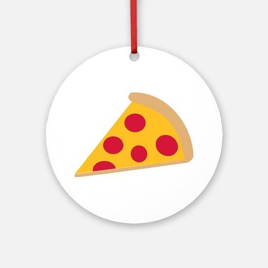 Pizza Ornament (Round)