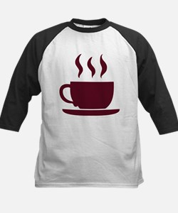 Cup of coffee Kids Baseball Jersey