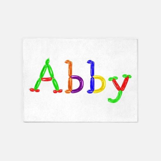 Abby Balloons 5'x7' Area Rug