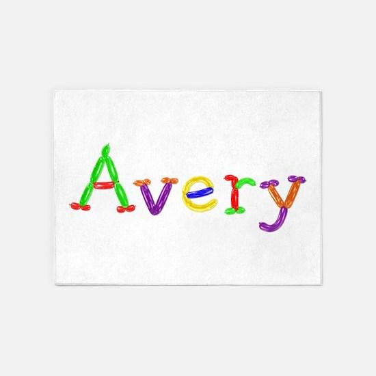 Avery Balloons 5'x7' Area Rug