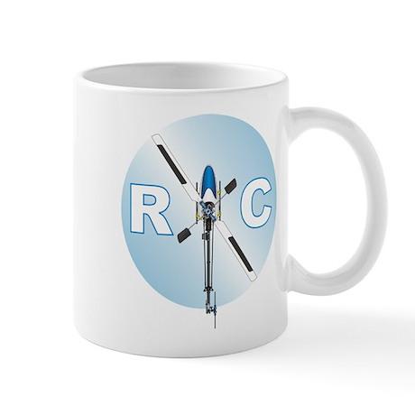 RC Heli Top Mug