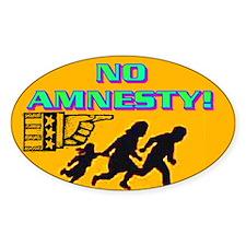 NO AMNESTY! Decal
