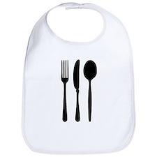 Cutlery - Fork - Knife - Spoon Bib