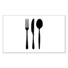 Cutlery - Fork - Knife - Spoon Decal