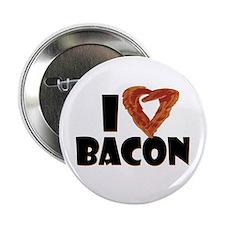 """I Heart Bacon 2.25"""" Button"""