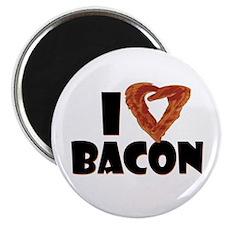 """I Heart Bacon 2.25"""" Magnet (10 pack)"""