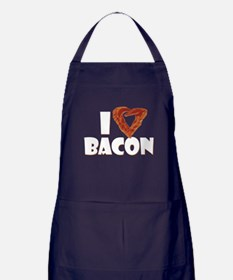 I Heart Bacon Apron (dark)