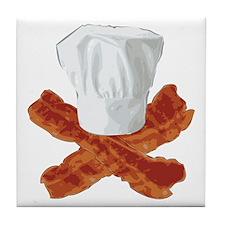Bacon Chef Tile Coaster