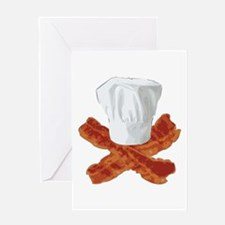 Bacon Chef Greeting Card