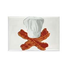 Bacon Chef Rectangle Magnet