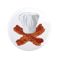 """Bacon Chef 3.5"""" Button (100 pack)"""