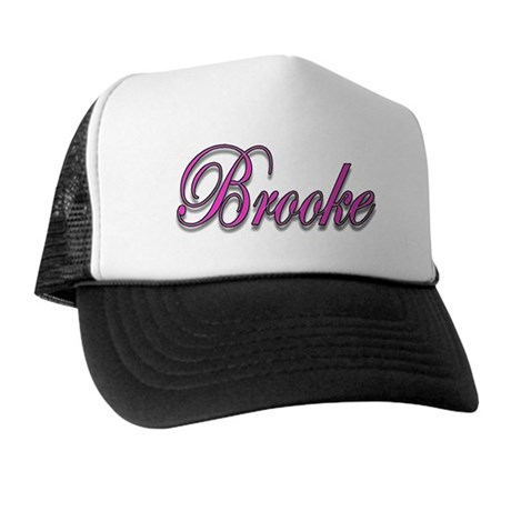 """ Brooke"" Trucker Hat"