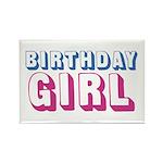 Birthday Girl Rectangle Magnet (10 pack)