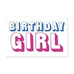 Birthday Girl Mini Poster Print