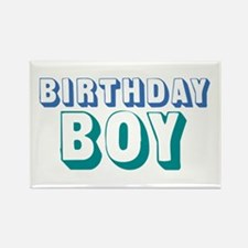 Birthday Boy Rectangle Magnet (100 pack)