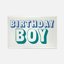 Birthday Boy Rectangle Magnet