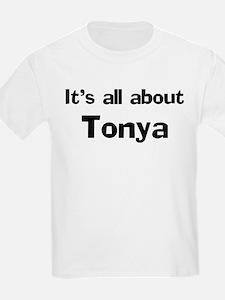 It's all about Tonya Kids T-Shirt