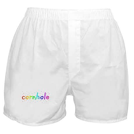 Cornhole Party Boxer Shorts